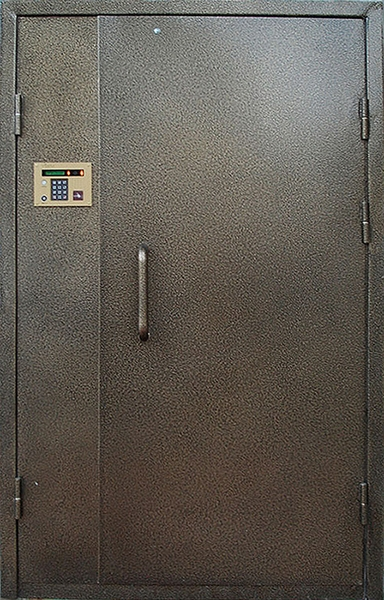 купить двери в подъезд с домофоном металлические
