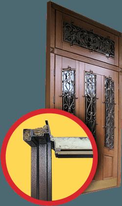 железные двери для тамбуров на лесничной клетке